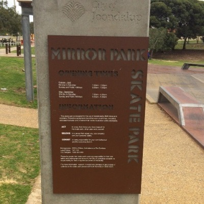 Skate-sign-Ciry-of-Joondalup