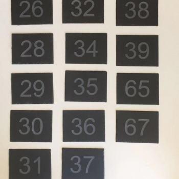 House-number-slate
